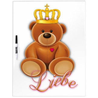 Note board pin wall with pin teddy love