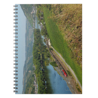 Note book central Rhine Valley with Lorch