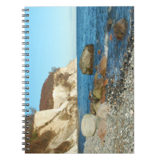 Note book chalk rock on reproaches