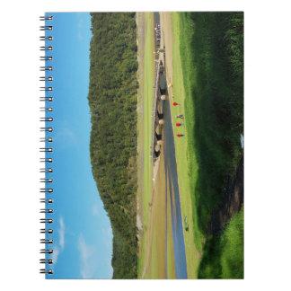 Note book Edersee old bridge Asel