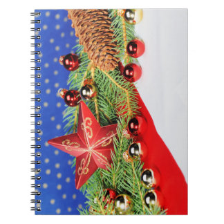 Note book glad Christmas