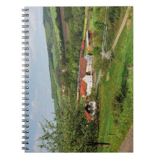 Note book Hermannspiegel in the Haunetal