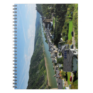 Note book Oberwesel in the central Rhine Valley