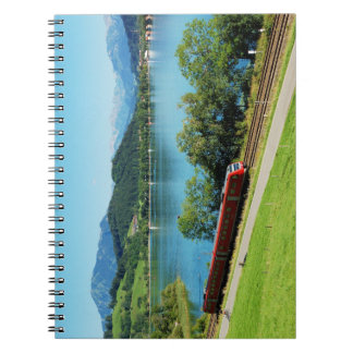 Note book of large Alpsee with Immenstadt