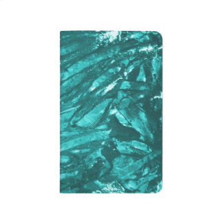 Note Book - Teal Abstract