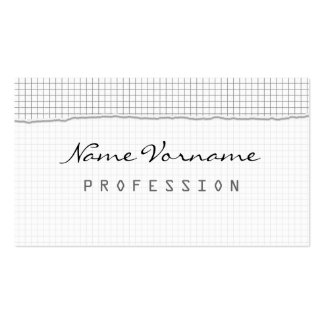 Note Double-Sided Standard Business Cards (Pack Of 100)