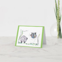 note card:  carpe diem card