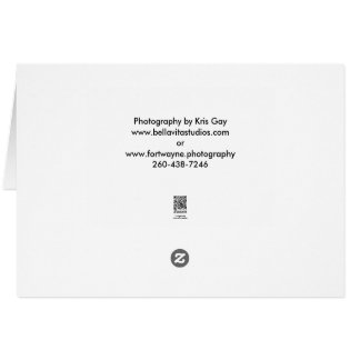 Note Card, classic size Card