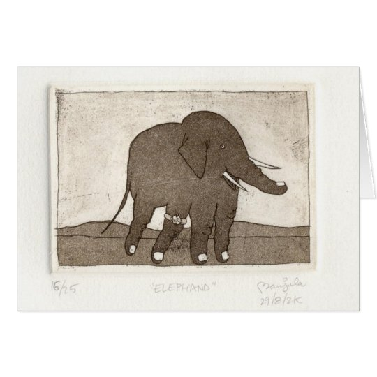 Note Card ELEPHAND