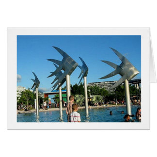 Note Card Fish Sculptures Cairns Australia