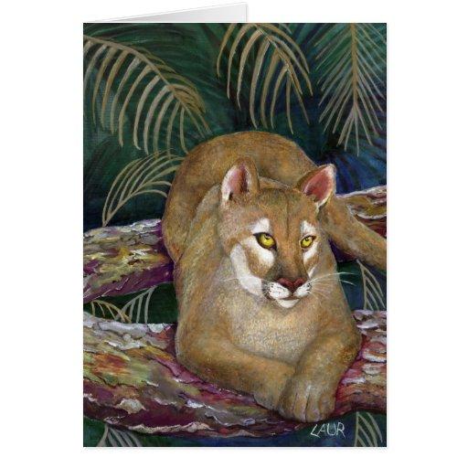 Note Card - Florida Panther