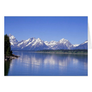 Note Card Grand Tetons