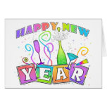 Note Card, Greeting Card - HAPPY NEW YEAR
