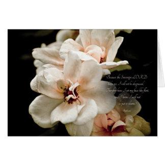 Note card - Isaiah 50:7