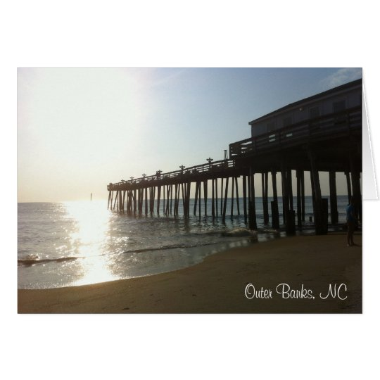 Note Card - Pier at Outer Banks, NC (OBX)