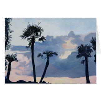 Note Card - Pre-Dawn Silhouettes