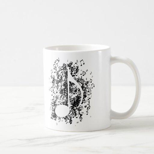 Note Explosion Coffee Mug