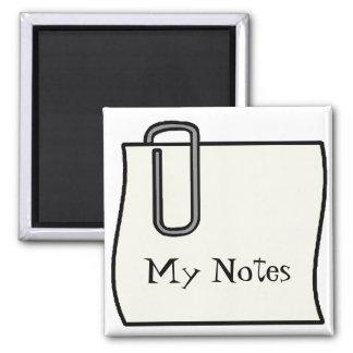 Note Holder Magnet