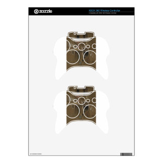 Note in Pink and Brown by James McNeill Whistler Xbox 360 Controller Skins