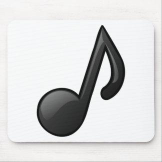 note music symbol mousepad