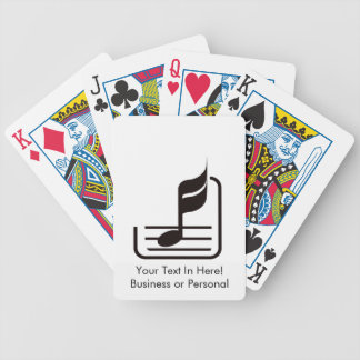 note n staff black abstract.png bicycle playing cards
