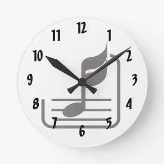 note n staff black abstract.png round clock