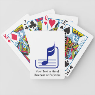 note n staff blue abstract.png bicycle playing cards