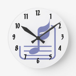 note n staff blue abstract.png round clock