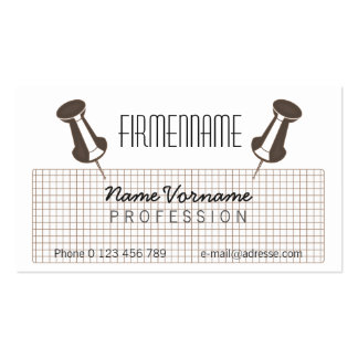 note note Double-Sided standard business cards (Pack of 100)