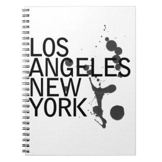 Note Pad, Lost Angeles and New York Notebook