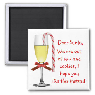 Note To Santa Christmas Magnet