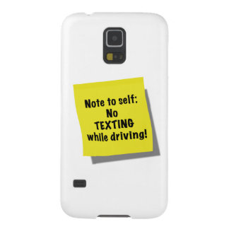 Note to self No texting while driving Samsung Galaxy Nexus Case