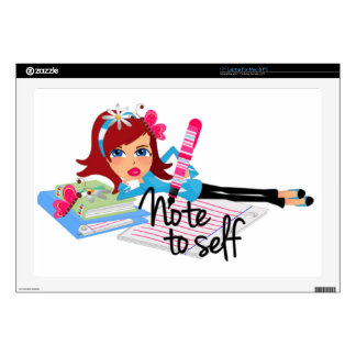Note To Self Teen Skin For Laptop