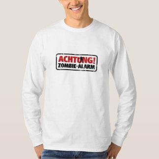Note! Zombie alarm T-Shirt