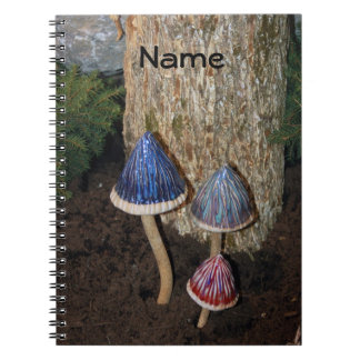 Notebook  3 Mushrooms