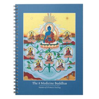 NOTEBOOK 8 Medicine Buddha's