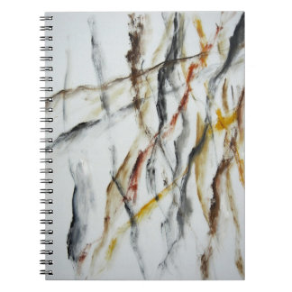 Notebook - Abstract Oil Painting