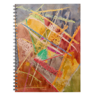 Notebook Abstract Painting