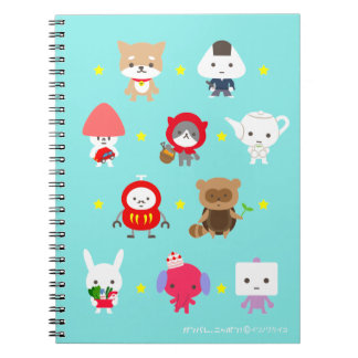 Notebook_AllCharacters - Stars Notebooks