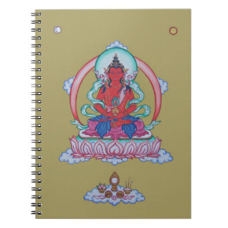 NOTEBOOK - Amitayus - Buddha of Longevity