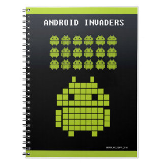 Notebook Android Invaders