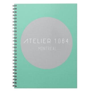 Notebook- Atelier 1064 Spiral Notebook