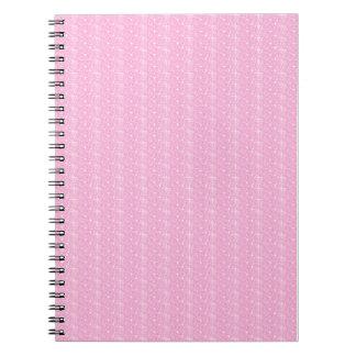 Notebook Baby Pink Glitter