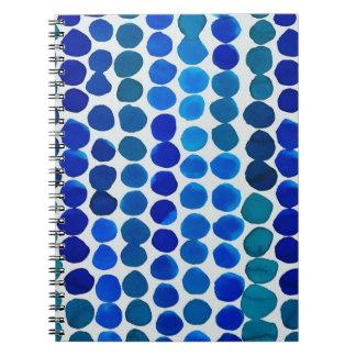Notebook- Blue Dots! Spiral Notebook