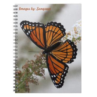 Notebook, Butterfly Spiral Notebook