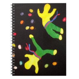 notebook capoeira martial arts dance brazil