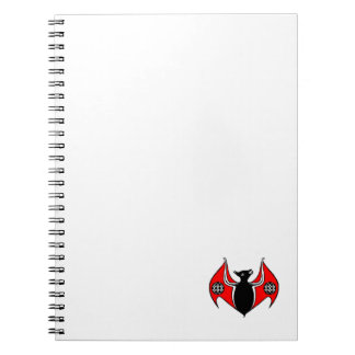 Notebook Celtic Winged Bat Insignia To Customize