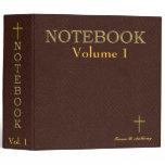 Notebook - Christian (English) 3 Ring Binder by David M. Bandler