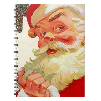 Notebook Christmas Holiday Guestbook Open House