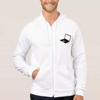 Notebook computer hoodie
